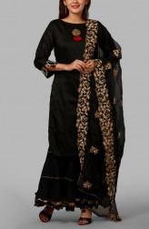 d5dba0856d Black Pearl Salwar Suit · Anokherang. £100. Indian Fashion Designers -  Anokherang - Contemporary Indian Designer - Green ...