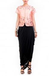 Indian Fashion Designers - Anushree Agarwal - Contemporary Indian Designer - Embellished Jacket Set - ANUA-AW16-AWT2222BY2223