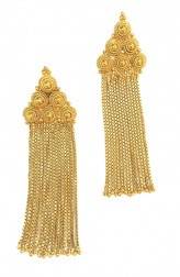 Indian Fashion Designers - Artsie Ville - Contemporary Indian Designer - Edith Earrings - ARV-AW16-AVE020