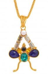 Indian Fashion Designers - Artsie Ville - Contemporary Indian Designer - Devorah Necklace - ARV-AW16-AVE023