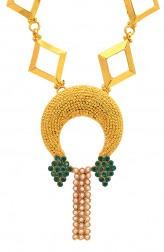 Indian Fashion Designers - Artsie Ville - Contemporary Indian Designer - Deanndra Necklace - ARV-AW16-AVN027