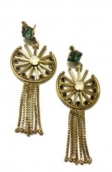 Indian Fashion Designers - Artsie Ville - Contemporary Indian Designer - Tyrra Earrings - ARV-SS17-AVE049