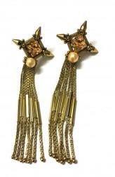 Indian Fashion Designers - Artsie Ville - Contemporary Indian Designer - Tiyana Earrings - ARV-SS17-AVE051