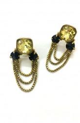 Indian Fashion Designers - Artsie Ville - Contemporary Indian Designer - Keanna II Earrings - ARV-SS17-AVE052