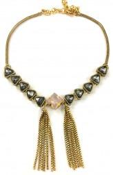 Indian Fashion Designers - Artsie Ville - Contemporary Indian Designer - Hertha I Necklace - ARV-SS17-AVN055