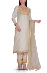 Indian Fashion Designers - Bodhitree - Contemporary Indian Designer - Zoish Salwar Suit - BDT-AW17-BDTR016401