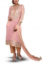 Indian Fashion Designers - Bodhitree - Contemporary Indian Designer - Paasbaan Salwar Suit - BDT-AW17-BDTR019301