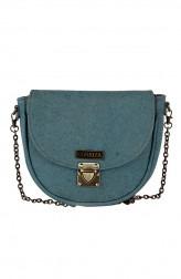 Indian Fashion Designers - Corkiza - Contemporary Indian Designer - Messenger Bag in Cork - CKZ-AW16-CKZ03