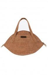 Indian Fashion Designers - Corkiza - Contemporary Indian Designer - Cork Micro bag - CKZ-AW16-CKZ06