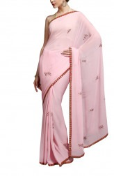 Indian Fashion Designers - Kyra - Contemporary Indian Designer - The Knotty Tale Saree - KYA-AW16-KP013