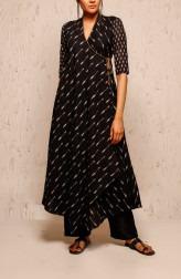 Indian Fashion Designers - Myoho - Contemporary Indian Designer - Vasudha Jacket Set - MYO-SS17-1111