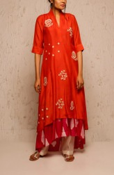 Indian Fashion Designers - Myoho - Contemporary Indian Designer - Alina Dress Set - MYO-SS17-1133