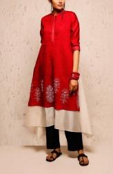 Indian Fashion Designers - Myoho - Contemporary Indian Designer - Anila Dress Set - MYO-SS17-1144