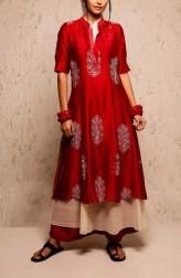 Indian Fashion Designers - Myoho - Contemporary Indian Designer - Aura Dress Set - MYO-SS17-1145