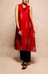 Indian Fashion Designers - Myoho - Contemporary Indian Designer - Reva Dress Set - MYO-SS17-1146