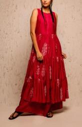 Indian Fashion Designers - Myoho - Contemporary Indian Designer - Jwala Jacket Set - MYO-SS17-1162