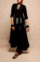 Indian Fashion Designers - Myoho - Contemporary Indian Designer - Jagruti Dress Set - MYO-SS17-1165