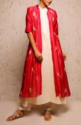 Indian Fashion Designers - Myoho - Contemporary Indian Designer - Ria Dress Set - MYO-SS17-1172A