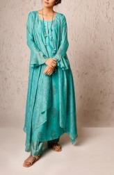 Indian Fashion Designers - Myoho - Contemporary Indian Designer - Samma Jacket Dress Set - MYO-SS17-1173A