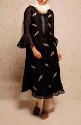 Indian Fashion Designers - Myoho - Contemporary Indian Designer - Pubi Dress Set - MYO-SS17-1176