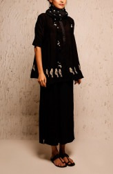 Indian Fashion Designers - Myoho - Contemporary Indian Designer - Mayrah Top - MYO-SS17-1177
