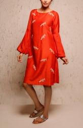 Indian Fashion Designers - Myoho - Contemporary Indian Designer - Elda Dress - MYO-SS17-1179