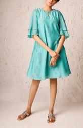 Indian Fashion Designers - Myoho - Contemporary Indian Designer - Asma Dress - MYO-SS17-1188