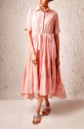 Indian Fashion Designers - Myoho - Contemporary Indian Designer - Falak Dress - MYO-SS17-1191