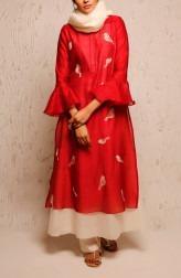 Indian Fashion Designers - Myoho - Contemporary Indian Designer - Vayu Dress Set - MYO-SS17-1193