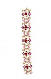 Indian Fashion Designers - Nine Vice  - Contemporary Indian Designer - Moulin Bracelet - NIV-AW16-MR-BR-1