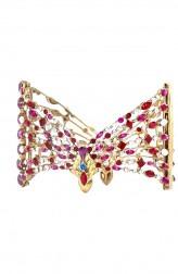 Indian Fashion Designers - Nine Vice  - Contemporary Indian Designer - Pailette Bracelet - NIV-AW16-MR-BR-2