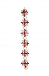 Indian Fashion Designers - Nine Vice  - Contemporary Indian Designer - Petit Moulin Bracelet - NIV-AW16-MR-BR-4