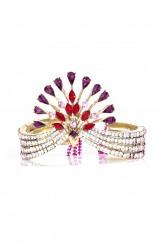 Indian Fashion Designers - Nine Vice  - Contemporary Indian Designer - Lady Rouge Bracelet - NIV-AW16-MR-BR-6
