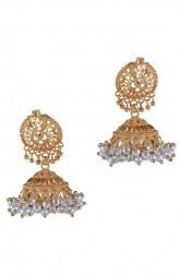Indian Fashion Designers - Paisley Pop - Contemporary Indian Designer - Aynat Kashmiri Jhumka - POP-AW16-PPXW001