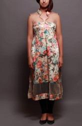 Indian Fashion Designers - Prisha by Shivesh - Contemporary Indian Designer - Pretty Floral Tunic - PRSH-AW16-Verv-29A