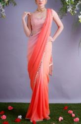 Image Result For Asian Bride Blue Jacket Lehenga Wedding Dress