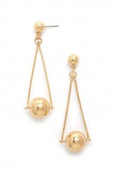 Indian Fashion Designers - Rhea - Contemporary Indian Designer - The Halley Earrings - RH-SS17-1130049