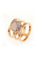 Indian Fashion Designers - Rhea - Contemporary Indian Designer - Radius Marble Ring - RH-SS17-1140053