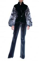 Indian Fashion Designers - Siddartha Tytler - Contemporary Indian Designer - Neoperne Velvet Suit - ST-AW17-SUIT-004