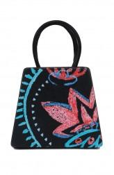 Indian Fashion Designers - Syuuta - Contemporary Indian Designer - Digital Printed Mama Mia Hangbag - SYK-AW16-SY014