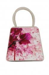 Indian Fashion Designers - Syuuta - Contemporary Indian Designer - Classic Digital Printed Mama Mia Handbag - SYK-AW16-SY025
