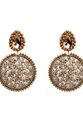 Indian Fashion Designers - Vaidaan Jwellery - Contemporary Indian Designer - A Fashion Curator Earrings - VJ-SS19-VAI00ADE01