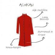 Menswear- Achkan