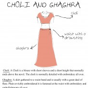 Womenswear - Choli and Ghaghra