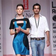Indian fashion designer Manoj Dubey, creator of 5 Eleven
