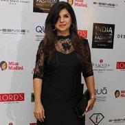 Indian Fashion Designer Babita Malkani on the Ramp