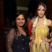 Indian fashion designer Dolly J