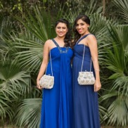 Designers Nitya Mittal Biswas and Isha Gupta for Ruche & Hues