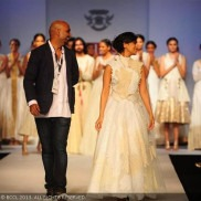 Clothes Designer from India - Samant Chauhan on the ramp