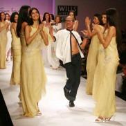Indian Fashion Designer James Ferreira on the ramp